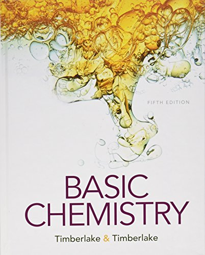 Compare Textbook Prices for Basic Chemistry 5 Edition ISBN 9780134138046 by Timberlake, Karen C.