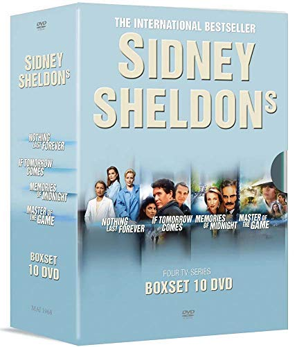 Sidney Sheldon's Collection - 10-DVD Boxset ( Nothing Lasts Forever / If Tomorrow Comes / Memories of Midnight / Master of the Game ) [ Origen Danés, Ningun Idioma Espanol ]
