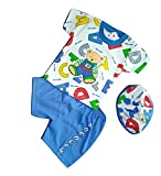 Baby & Sons Alphabets Cotton Printed T-Shirt and Shorts Set with Cap