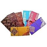 Lightahead Kartenumschlag-Set für Geldgeschenke/ Gutscheine, mit 5verschiedenen Farben und Designs, ideal für Hochzeiten, Weihnachten, Jubiläen