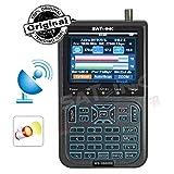 Satlink WS-6908SE RUBBER Second Edition by Froggit - Localizador digital de señal de satélite DVB-S TFT 8,9cm.
