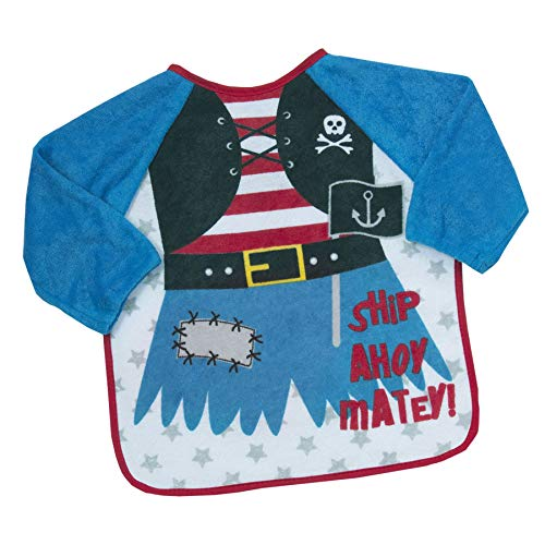 undercover lingerie Kids Babytown Terry Bib with Sleeves 13C045 Pirate