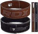 RDX Dynamophilie Ceinture Cuir Vachette Boucle Musculation Fitness Bodybuilding...