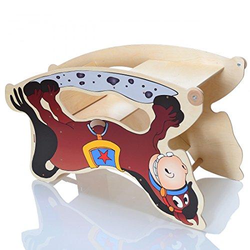 TRIHORSE ® Baby Kinderhochstuhl 3 in 1 Hochstuhl, Schaukelpferd, Spieltisch - 4