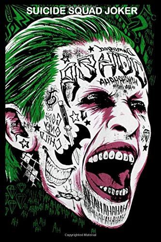 Suicide Squad joker: Writing Journal - Notepad - Notebook - Diary : 120 pages Blank Lined