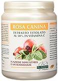 Dr. Giorgini Integratore Alimentare, Monocomponenti Erbe Rosa Canina Estratto Titolato al 50% in Vitamina C Polvere - 500 g
