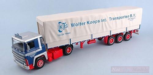 Con precio barato para obtener la mejor marca. IXO Model TTR004 Scania Scania Scania LBT 141 Wolter KOOPS (NL) 1976 1 43 MODELLINO Die Cast  ventas en linea