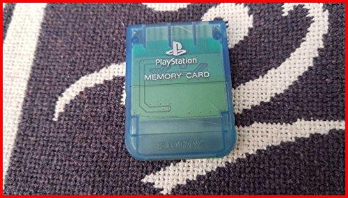 Original Sony Memory Card in BLAU für PS1
