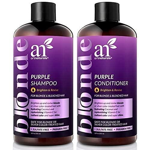 ArtNaturals Purple Shampoo and Conditioner Set x Minneapolis Mall Industry No. 1 12oz – 2 Prot