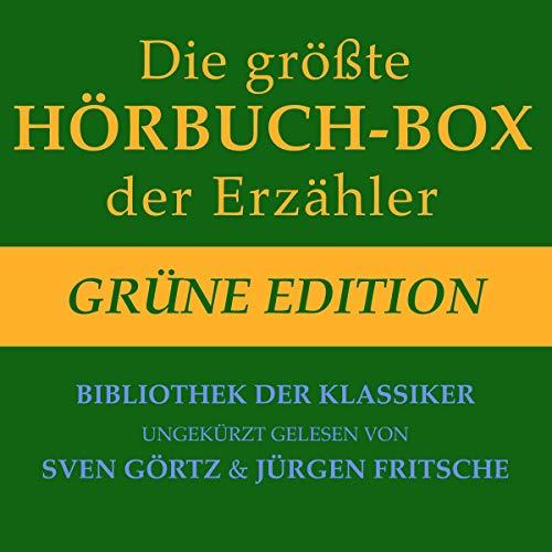 Die größte Hörbuch-Box der Erzähler - Grüne Edition Titelbild
