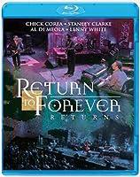 チック・コリア & リターン・トゥ・フォーエヴァー / 復活! リターン・トゥ・フォーエヴァー~ライヴ・アット・モントルー 2008 [Blu-ray]