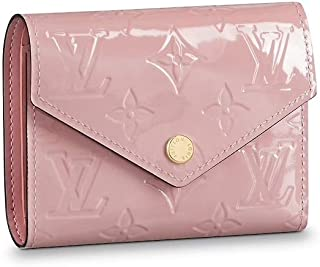 Louis Vuitton Victorine Wallet Monogram Vernis Leather M62428 Rose Ballerine