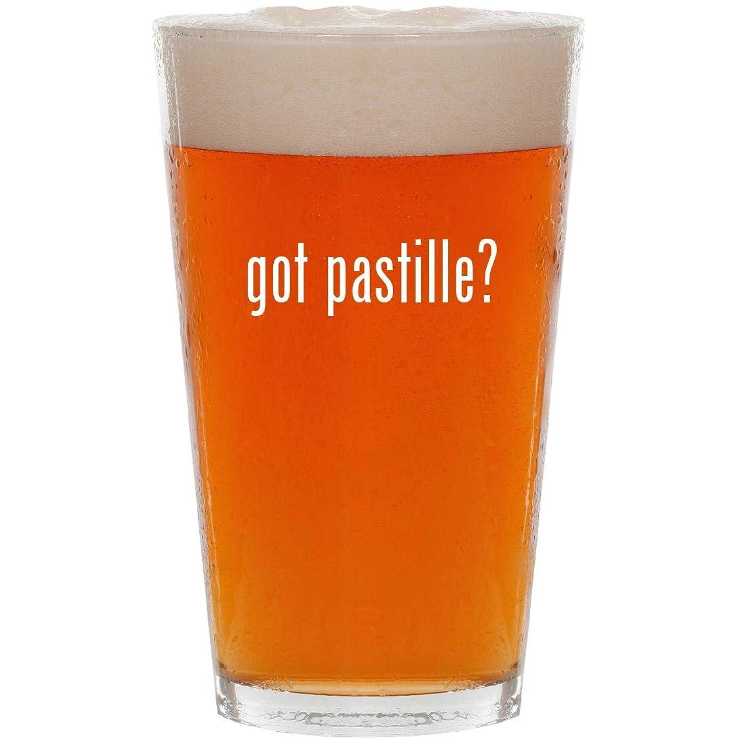 got pastille? - 16oz All Purpose Pint Beer Glass