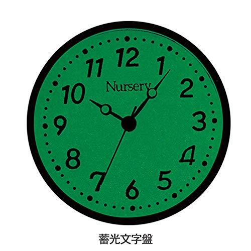 『ナースリー NEWハピプラ蓄光ナースウォッチ 逆さ文字盤 医療 看護 ナース 時計 【全13色】 アイスブルー 1085268A』の5枚目の画像