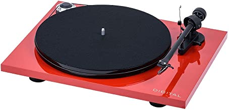 Pro-Ject Essential III Digital Turntable - Red