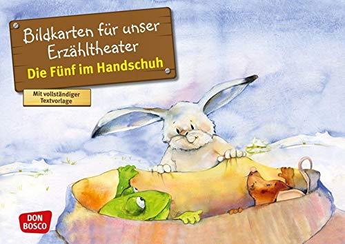 Die Fünf im Handschuh. Kamishibai Bildkartenset.: Entdecken - Erzählen - Begreifen: Märchen. (Märchen für unser Erzähltheater)