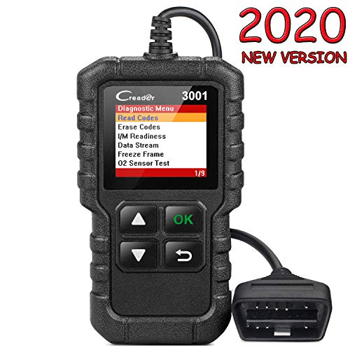 LAUNCH Creader 3001 OBD2 Scanner Automotive Car Diagnostic Check Engine Light O2 Sensor Systems OBD Code Readers Scan Tool