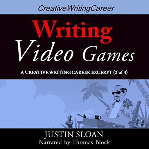 Writing Video Games audiobook cover art
