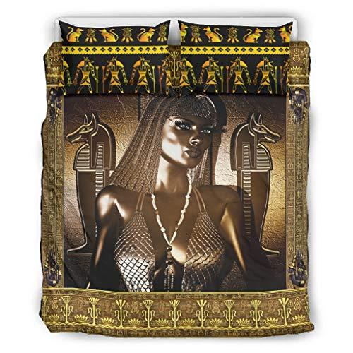 superyu Tagesdecke, antikes ägyptisches Queen, klassische geometrische Rautensteppung, wendbar, stilvolle Decke für Mitbewohner, weiß, 264,2 x 228,6 cm