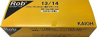 Robステープル13/14 2,500本×8箱 中箱