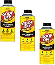 16-Ounce Goof Off FG653 Professional Strength Remover, Pourable (3 bottles)