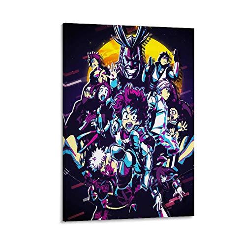 DRAGON VINES Imágenes abstractas para pared de Anime My Hero Academia Major Role, ideal para obras de arte (20 x 30 cm)