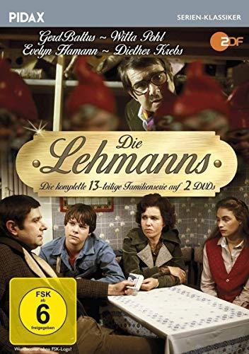 Die Lehmanns / Die komplette 13-teilige Familienserie (Pidax Serien-Klassiker) [3 DVDs]