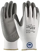 PIP 19-D322/L Great White 3GX Seamless Knit Dyneema Diamond Blended Glove with Polyurethane Coated Smooth Grip, L Size (Pack of 12)