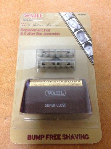 Wahl Bump Control Super Close Foil and Cutter Set