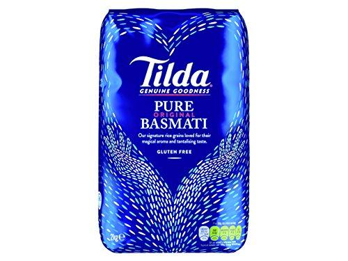 Tilda Arroz Basmati - 2 Paquetes de 2000 gr - Total: 4000 gr