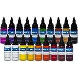 INTENZE Color Tattoo Ink Sets 1 oz (19 Color Tattoo Ink Set)