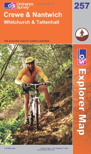 OS Explorer map 257 : Crewe & Nantwich