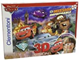 Clementoni 20043.6 Magic 3D - Puzzle en 3D diseño de Cars 2: 'We`ll keep you in the Race' (104 piezas) [Importado de Alemania]