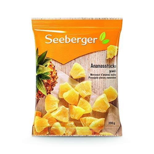 Seeberger Ananasstücke, 12er Pack (12 x 200 g Packung)