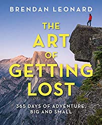 The Art of Getting Lost // A list of 12 of the best adventure books and inspiring books about the outdoors for anyone who wants a little more adventure in their everyday life.