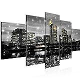 Runa Art - Bilder Frankfurt am Main 200 x 100 cm 5 Teilig