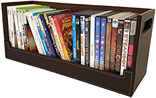Attractive and stylish storage box for DVDs, magnetic, safe stacking, 30+ Blu-ray DVD or 90 CDs: can be placed on...