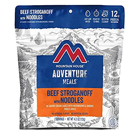 Beef Stroganoff with Noodles - Adventure Meal Pouch