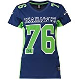 Fanatics Seattle Seahawks NFL Players Poly Mesh Tee/T Shirt Women Collection -