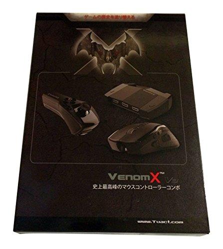 VENOM-X V3 Controller 日本語版正規品 (for PS3/ PS4/ XBOX 360/ XBOX ONE/ PC Windows)