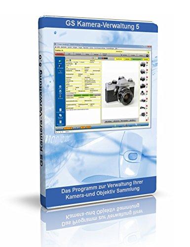 GS Kamera-Verwaltung 5 - Software zur Verwaltung Ihrer Kamera-Sammlung - Datenbank Programm für Kameras, Objektive und Zubehör