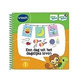 VTech MagiBook EEN dag uit het dagelijks Leven - Juegos educativos (Multicolor, Niño/niña, 2 año(s), 5 año(s), Holandés, Papel)
