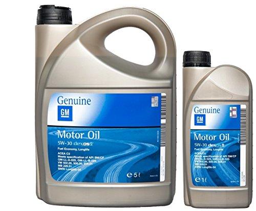 test Motoröl OPELGM 5W-30 dexos2 5 l + 1 l 5W30 Deutschland