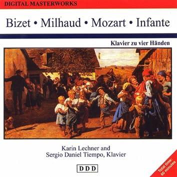 Digital Masterworks. Bizet, Milhaud, Mozart, Infante