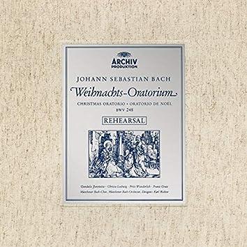 Rehearsal of J.S. Bach's Christmas Oratorio, BWV 248