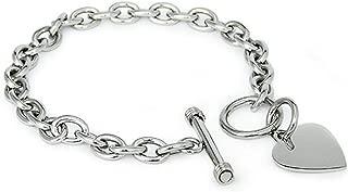 Best tiffany silver heart toggle bracelet Reviews