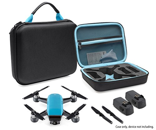 CaseSack Designed Protection Case for DJI Spark Mini Quadcopter Drone, Slots for Extra Batteries and - http://coolthings.us