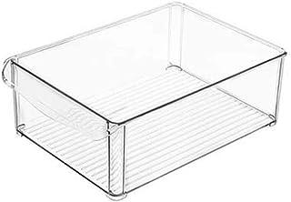 Lunch Box Réfrigérateur Boîte de Rangement Cuisine superposable Réfrigérateur Organisateur Peu encombrante Congélateur Org...