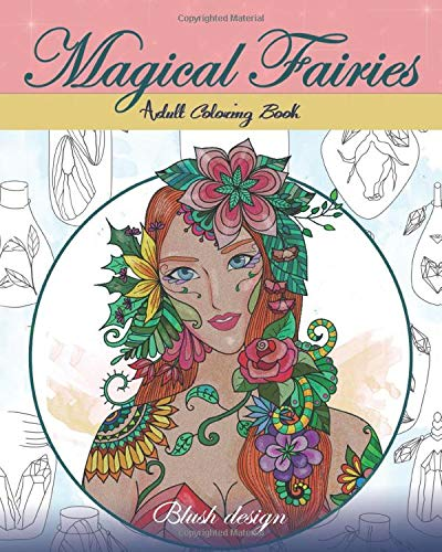 Magical Fairies: Adult Coloring Book
