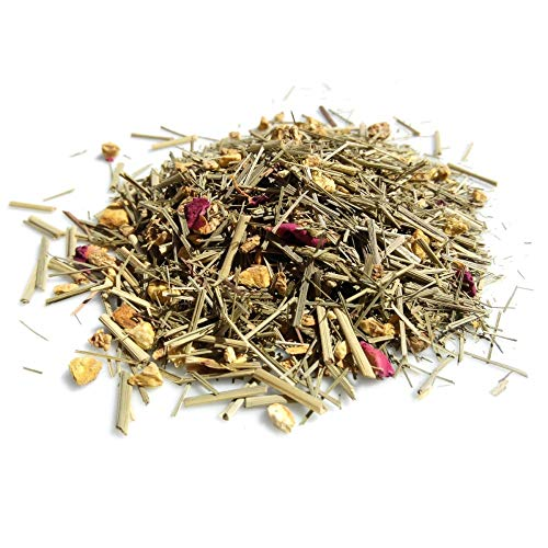 Ingwer Power Tee Ingwertee ayurvedische Vata Mischung ✔ Tea Chay Chai lose ✔ Teemischung ✔ ohne Zusatzstoffe, Aromastoffe & Konservierungsstoffe, 80g